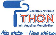 Angelika Maneth-Thon, Malerei Thon - Logo